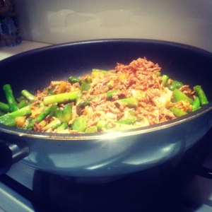 Chinese Pork Mince Stir Fry
