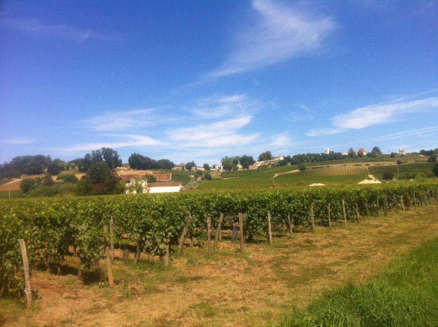 First impressions of St Emilion