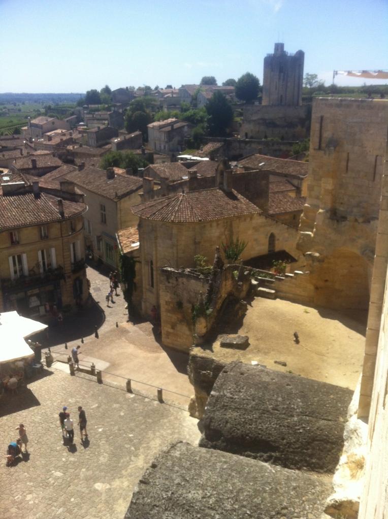 Medieval town of St Emilion